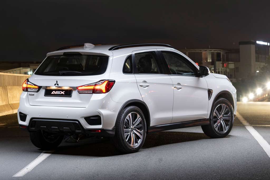 Mitsubishi ASX 2021 новый кузов