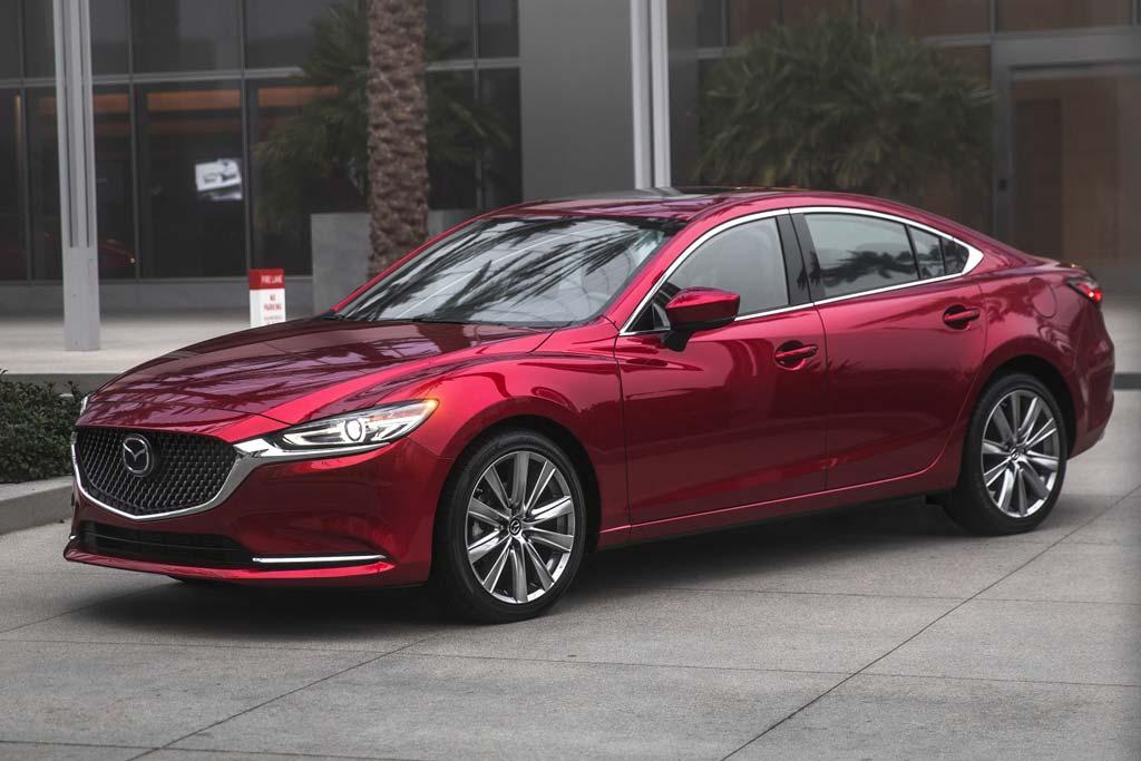 Mazda 6 2021 в новом кузове