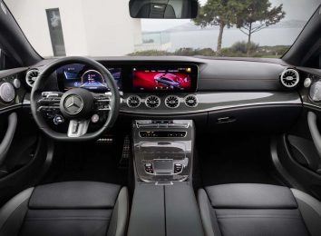 Mercedes E-Class Coupe 2021