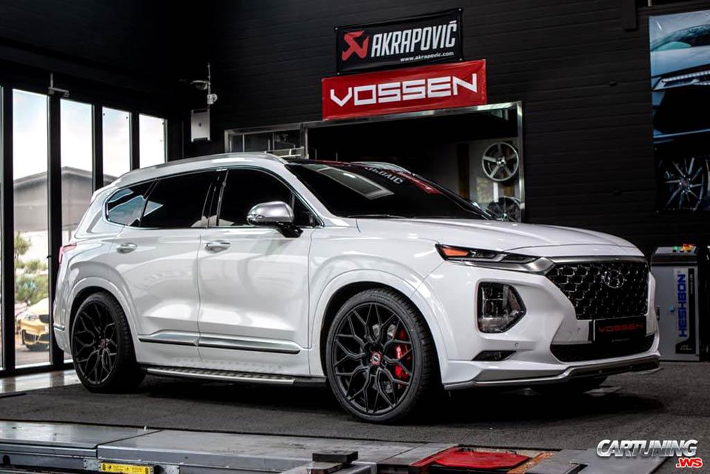 Новый Hyundai Santa Fe 2020 года