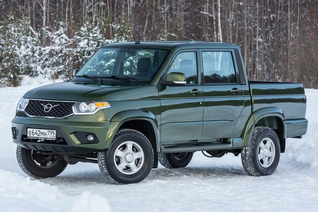 УАЗ Пикап 2021 в новом кузове