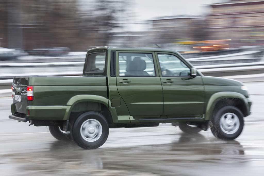 Новый кузов УАЗ Пикап 2021