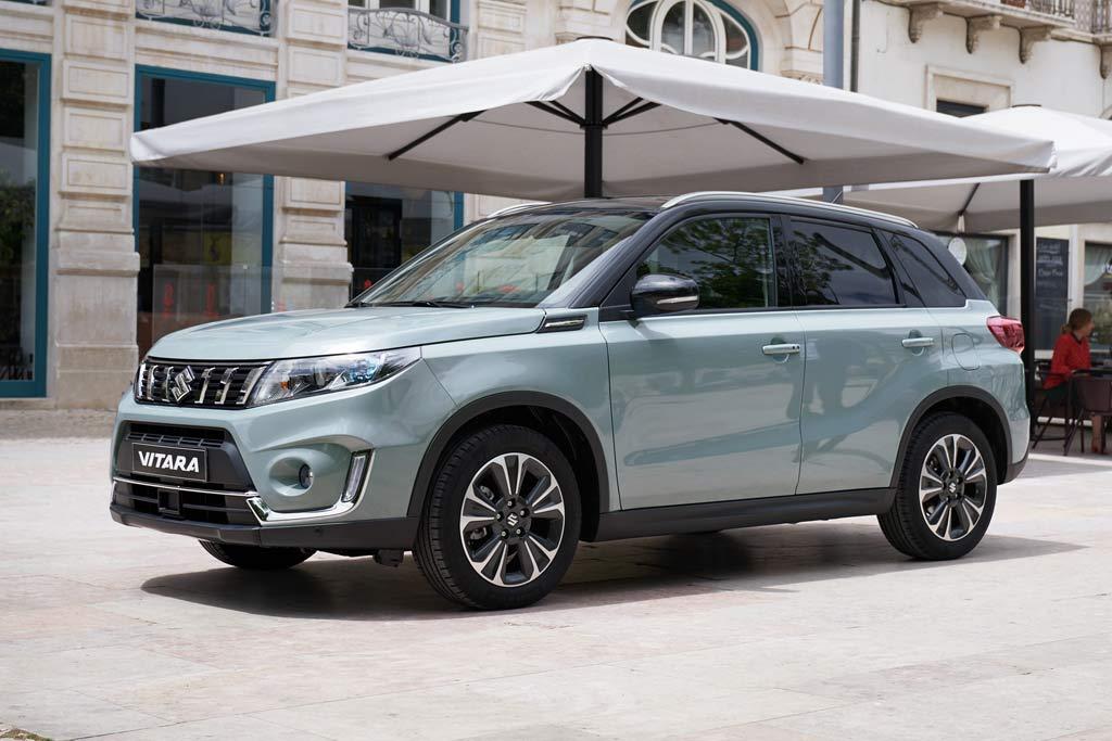 Suzuki Vitara 2021 в новом кузове
