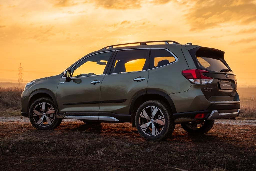 Subaru Forester 2021 в новом кузове