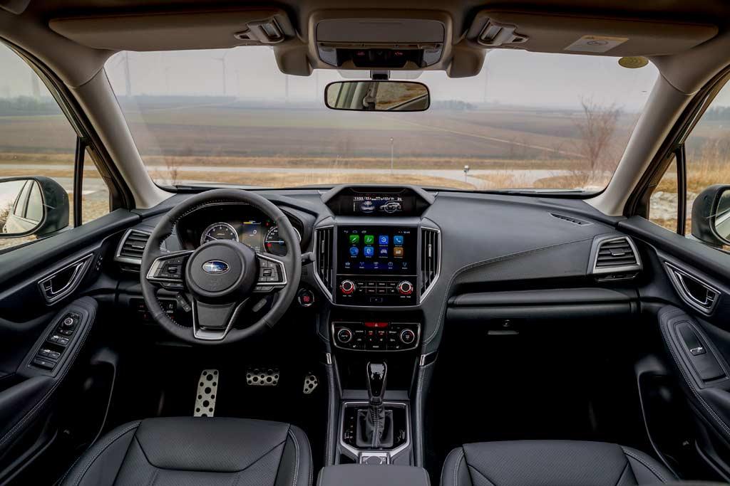 Салон Subaru Forester 2021