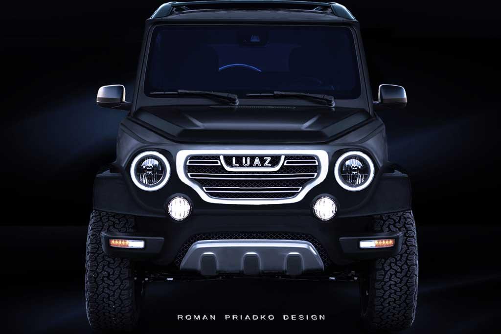 Рендер нового ЛУАЗ-969М