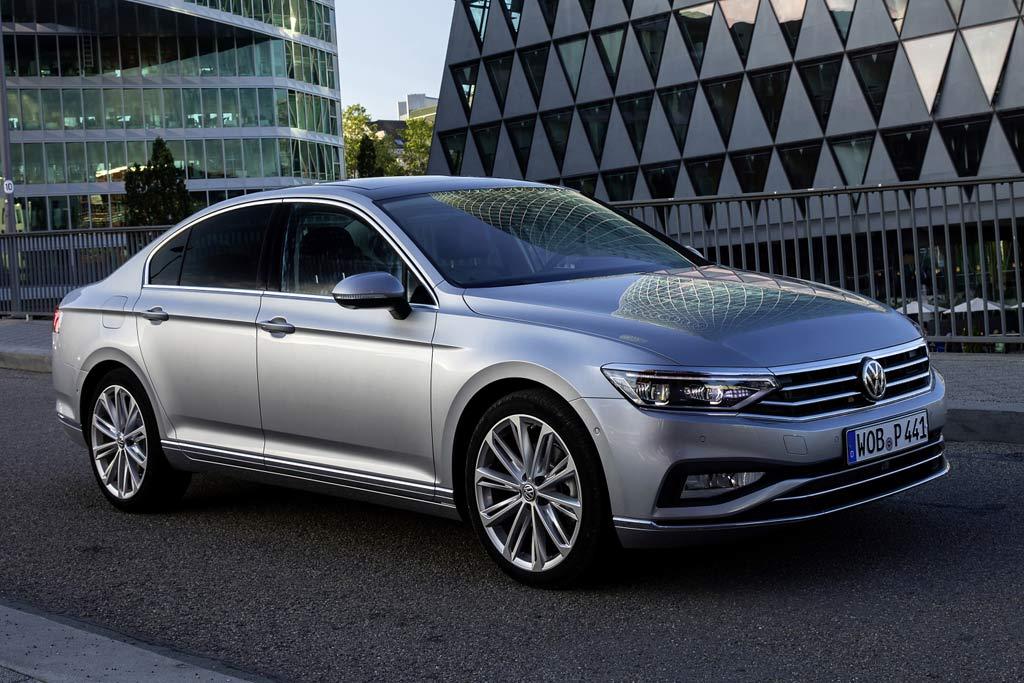 Новая модель Volkswagen Passat 2021