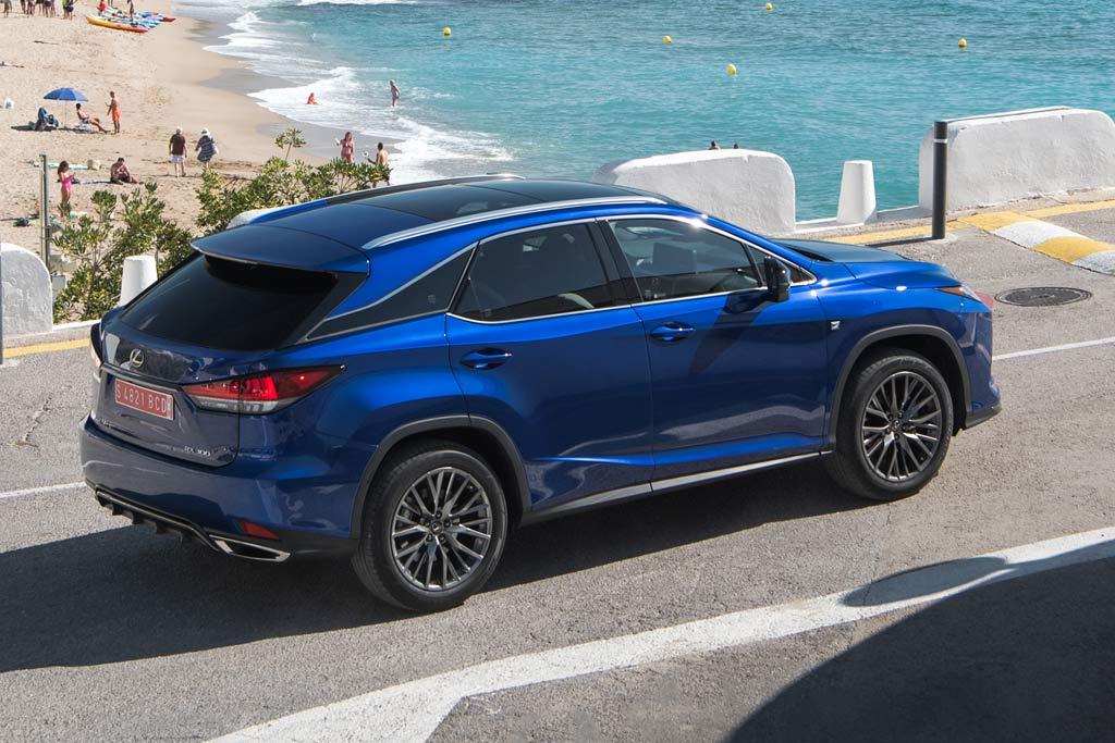 Новая модель Lexus RX 2021