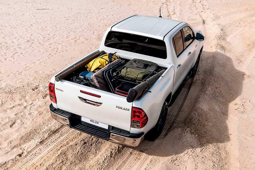 Новый кузов Toyota Hilux 2021