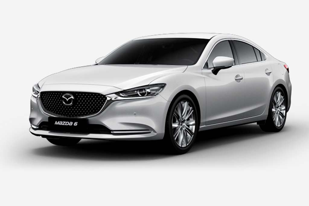 Mazda 6 Arctic White