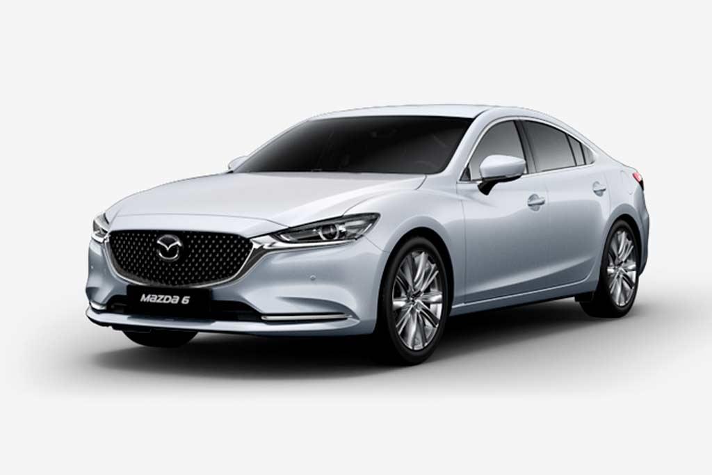 Mazda 6 Snowflake White Pearl