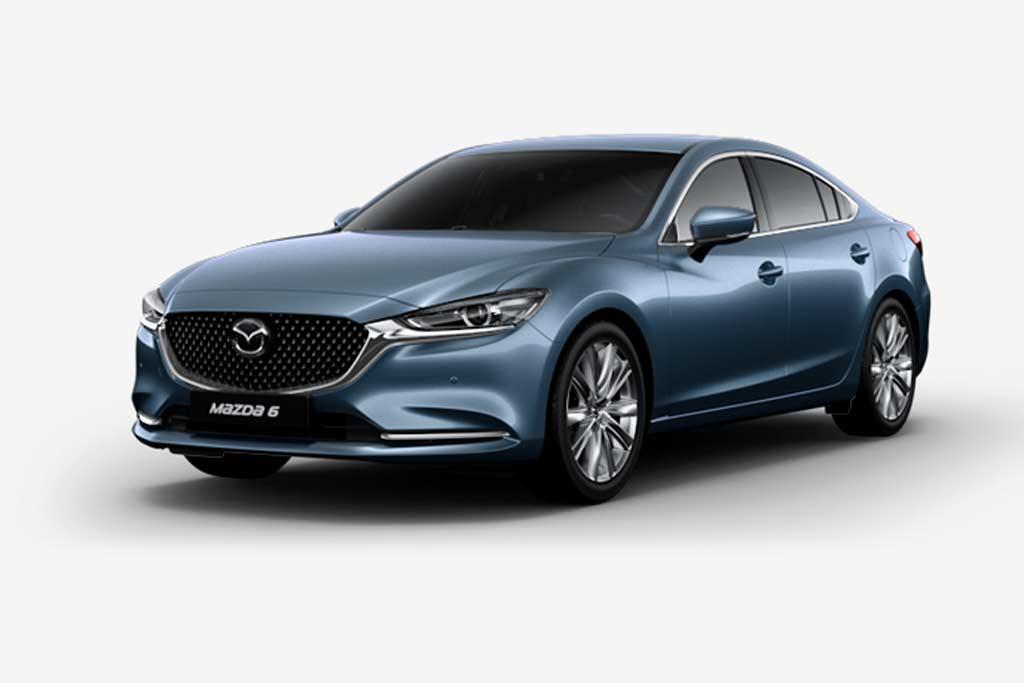 Mazda 6 Blue Reflex