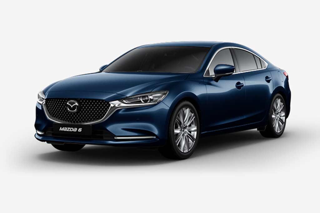 Mazda 6 Deep Crystal Blue