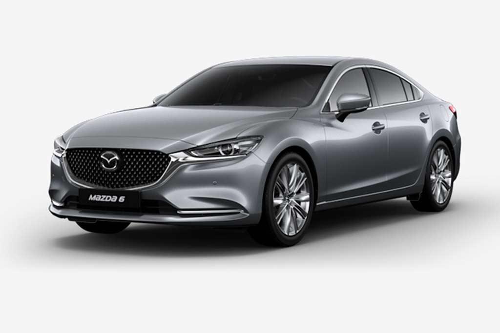 Mazda 6 Sonic Silver