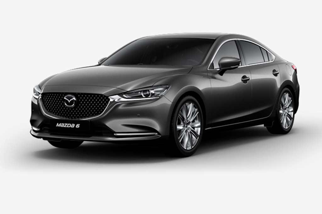 Mazda 6 Machine Gray