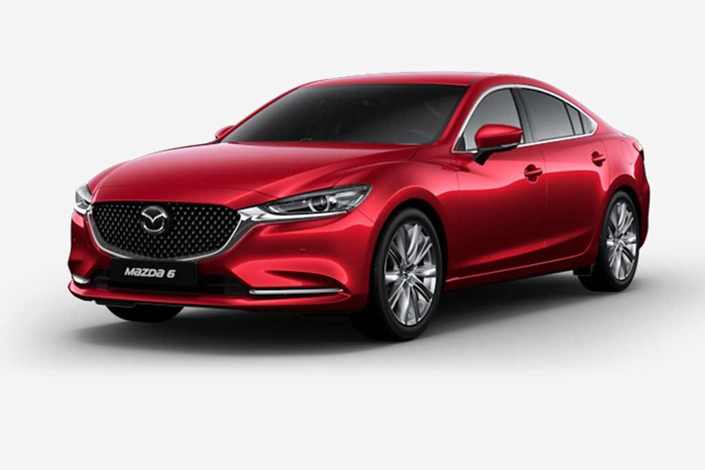 Mazda 6 Soul Red