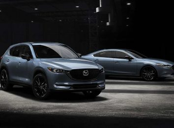 Модели Mazda Carbon Edition