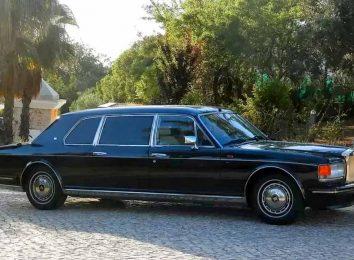 Rolls-Royce Silver Spur Mulliner Park Ward Limousine