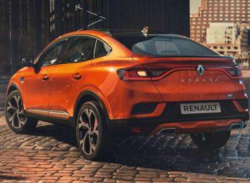 Renault Arkana для Европы