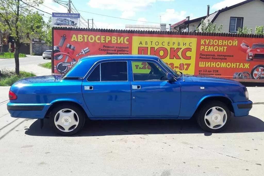 ГАЗ-3110 с мотром 1JZ