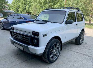 Lada 4x4 с мотором от Toyota
