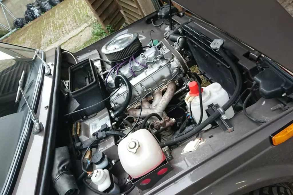 Lada 4x4 с мотором Lancia
