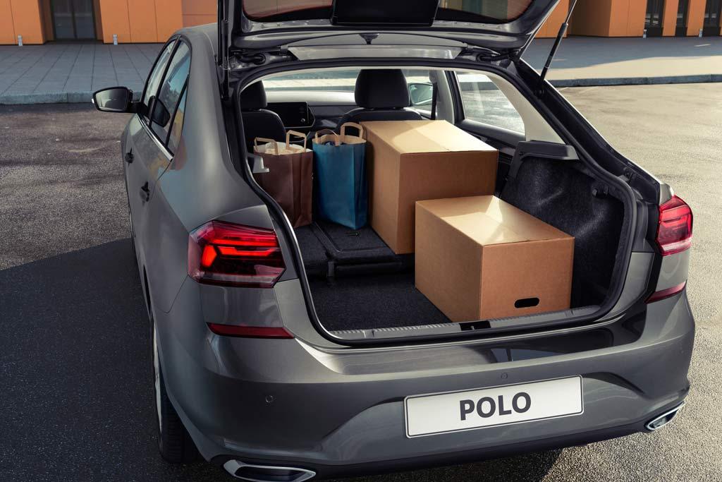 Багажник VW Polo 2021