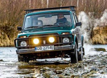 Lada 4x4 в Польше