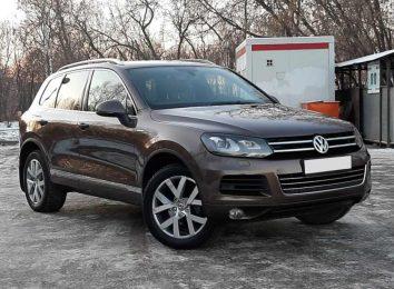 Отзыв о VW Touareg