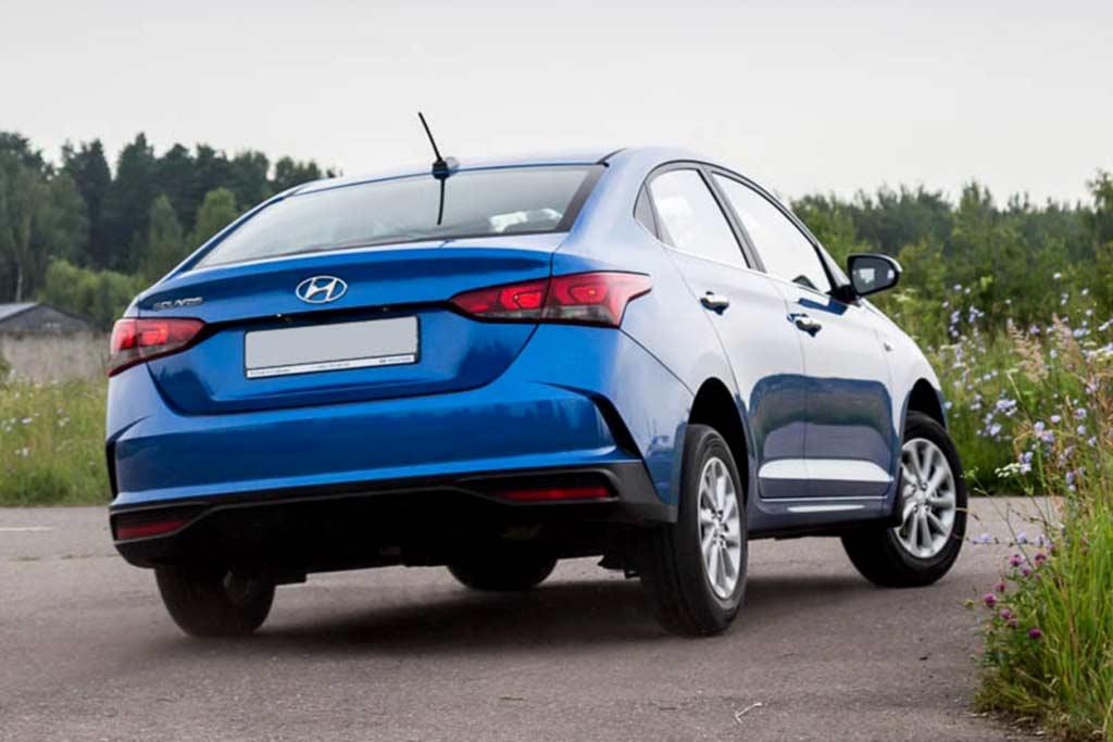 Hyundai Solaris 2021 в новом кузове