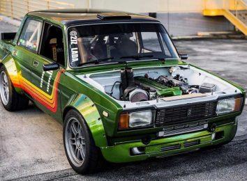 ВАЗ-2105 с мотором 2JZ