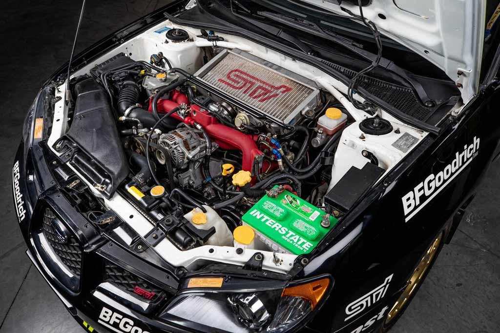 Subaru WRX STi Кена Блока