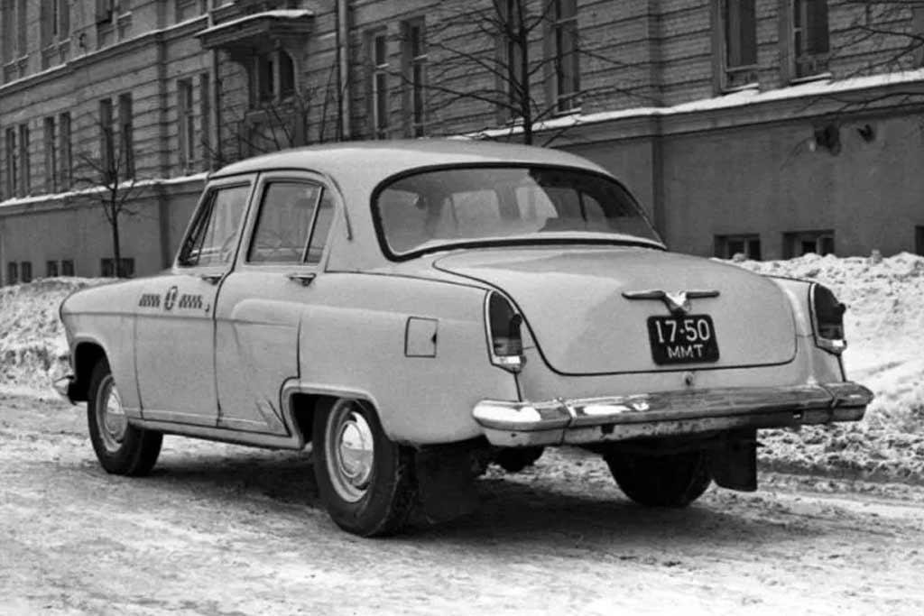 ГАЗ-21 такси