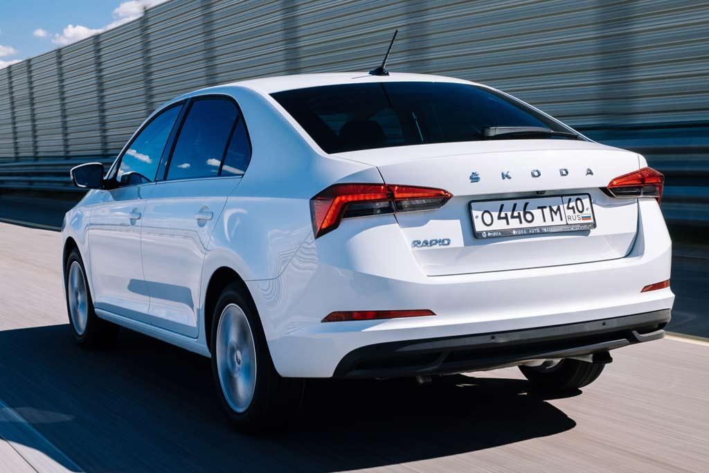 Skoda Rapid 2021 в новом кузове