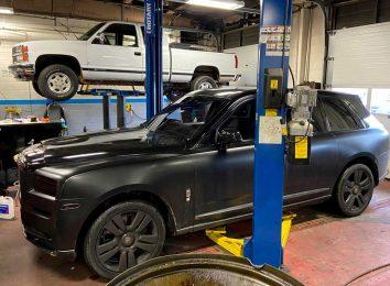 RR Cullinan в мастерской Chevrolet