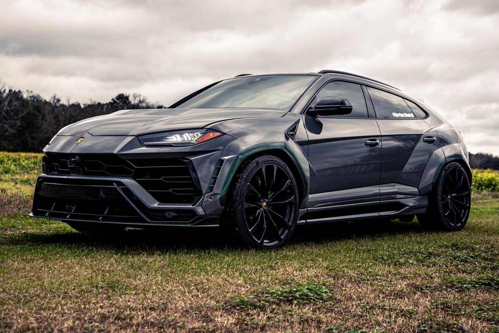 Lamborghini Urus Green Urnet
