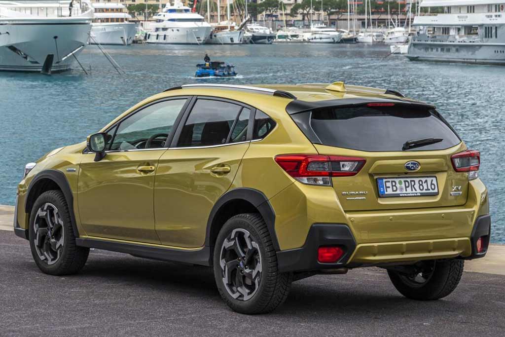 Subaru XV 2021 в новом кузове