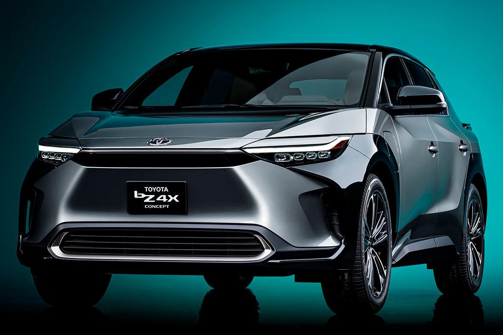 Toyota bZ4X Concept 2021