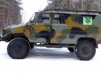 Внедорожник на базе ГАЗ-66