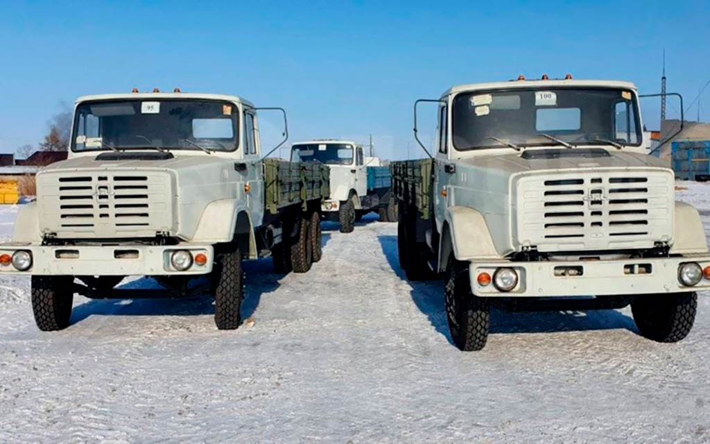 Новые ЗИЛ-134