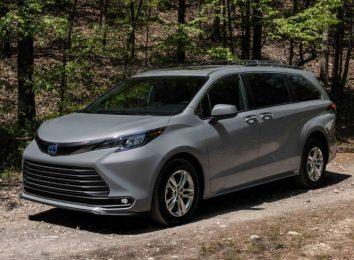 Toyota Sienna Woodland