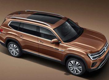 VW Teramont для Китая