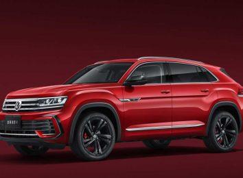VW Teramont X для Китая