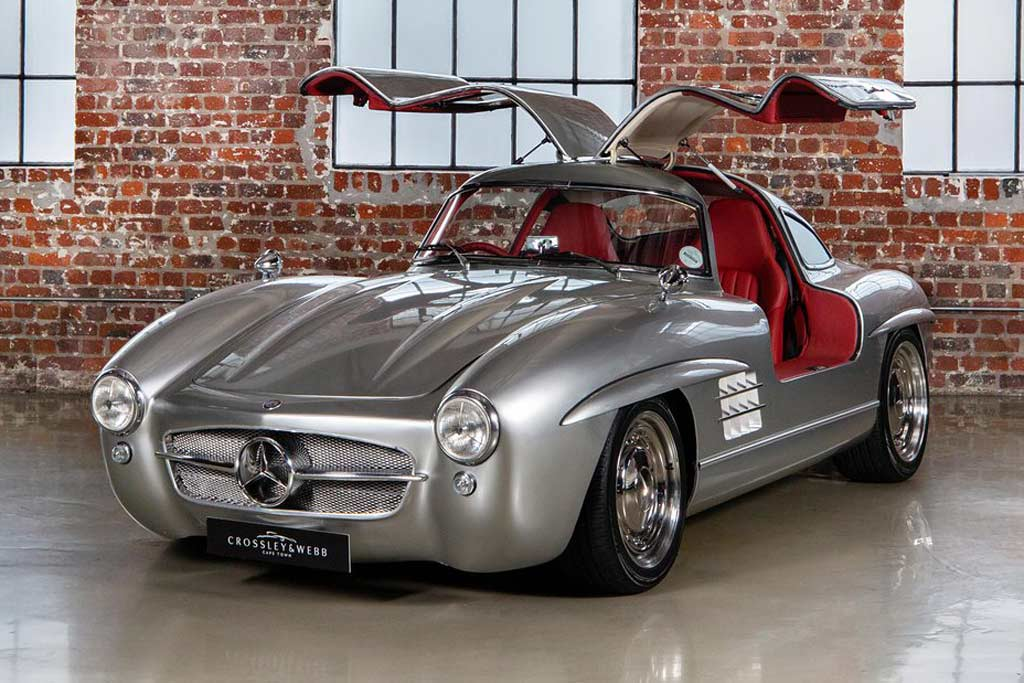 Mercedes 300 SL на базе SLK