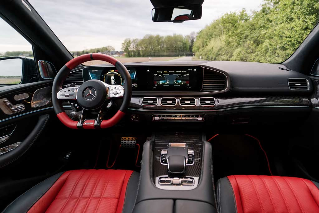 Mercedes-AMG GLE 63 S в исполнении Brabus 800 стоимостью в 27 млн рублей