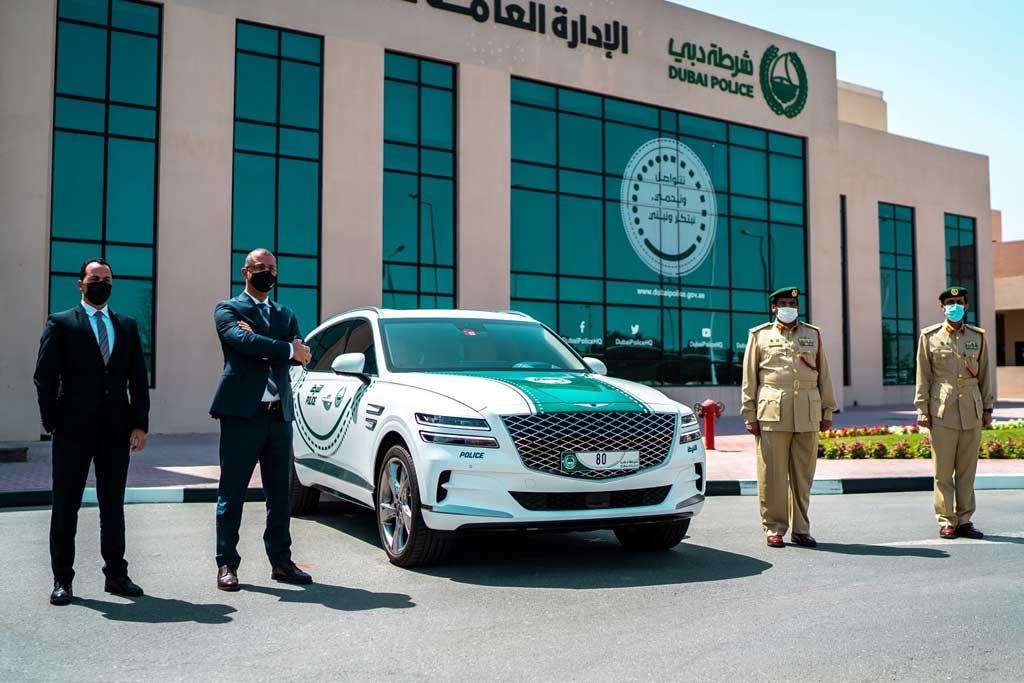 GV80 для полиции Дубая