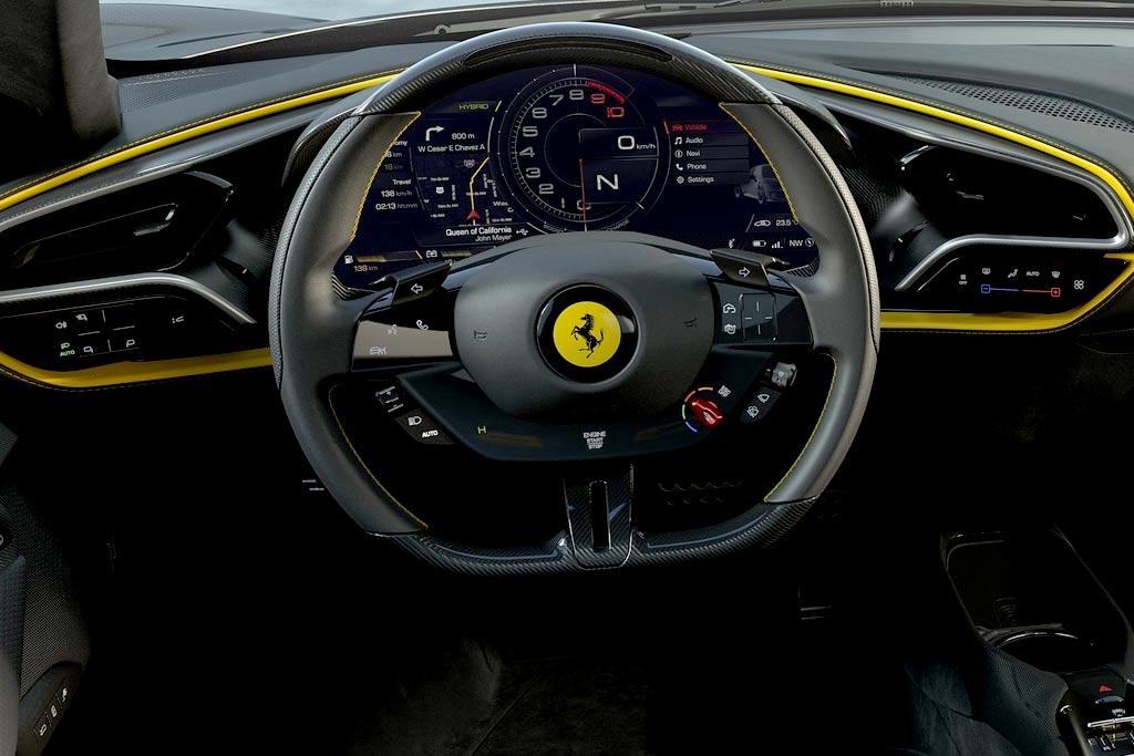 Представлен новый Ferrari 296 GTB: гибридный суперкар с мотором V6
