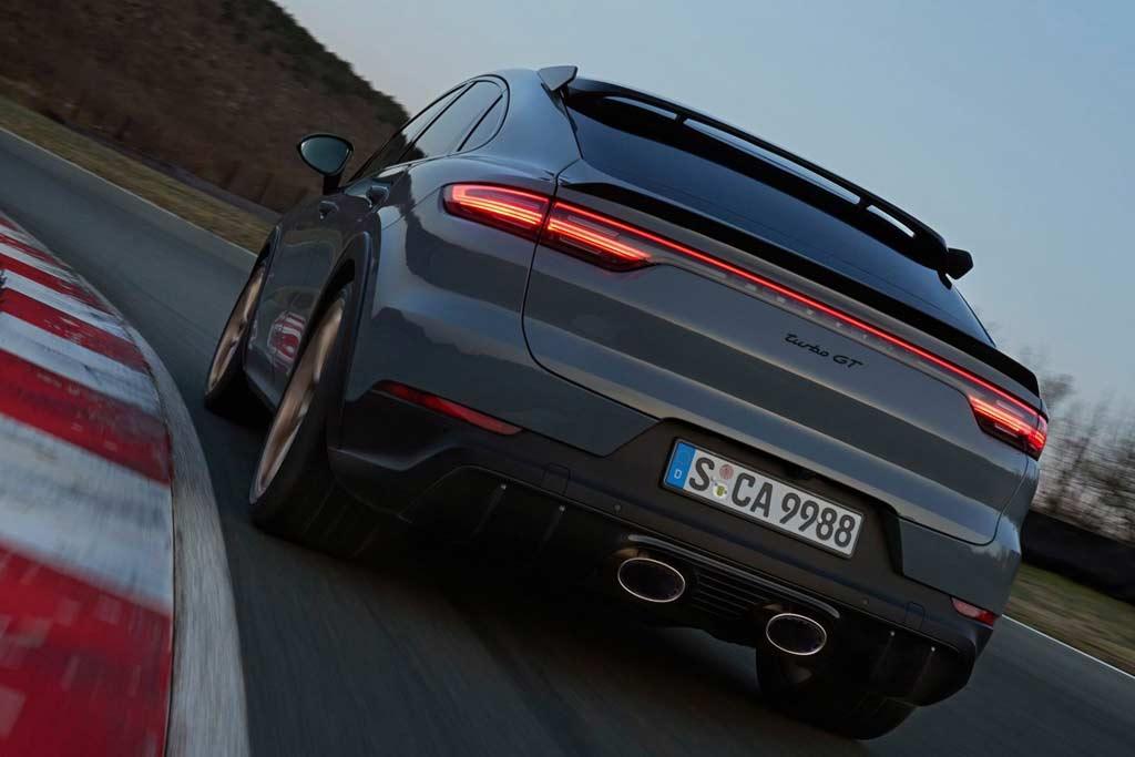 Porsche Cayenne Turbo GT: представлен самый быстрый Кайен за всю историю