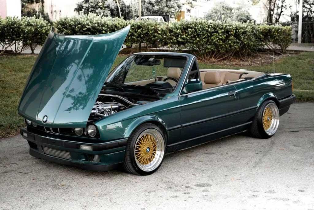BMW (E30) с мотором 1JZ-GTE