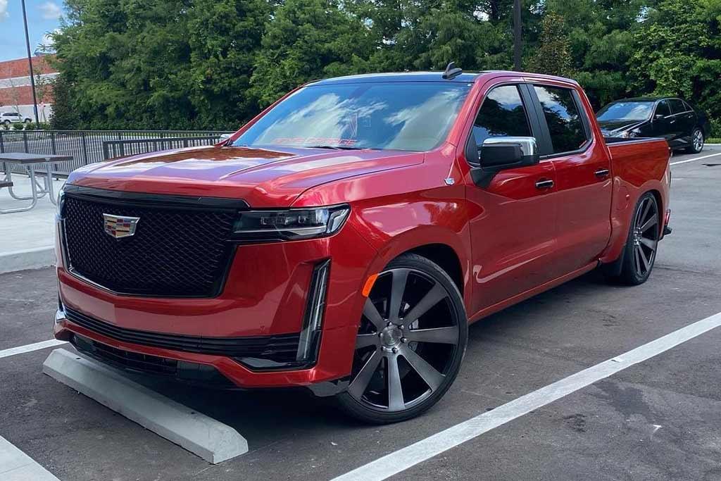 Новый Cadillac Escalade 2021 в кузове пикап: правда или фейк?